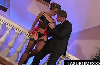 Cumshot pussy to mouth! Glamour threesome xxx tube video