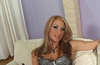horny blonde milf fucking hard in the ass and cum with sexy feet xxx tube video