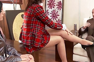 Glam feet and face jizzed xxx tube video