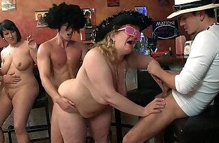 Wild bbw group sex orgy xxx tube video