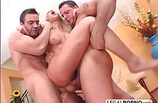 Two guys with big cocks fuck horny babes HC xxx tube video