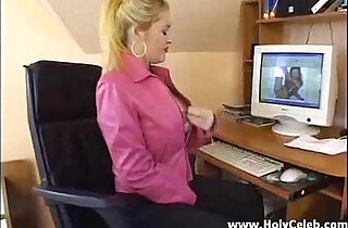 Babe getting fucked in an office xxx tube video