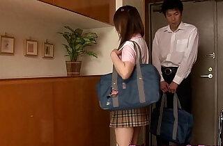 Japanese schoolgirl fucking her study partner xxx tube video
