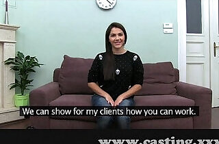 Casting Hot Italian Babe in interview xxx tube video