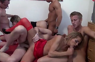 Students orgy with blowjobs and deep fucks xxx tube video