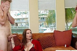 Naughty moms Diamond Foxxx and Marsha May share one cock xxx tube video