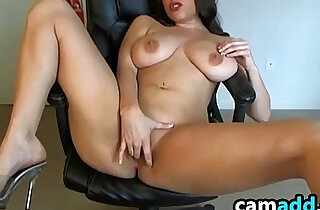 Hot Cam Chick Strips And Masturbates xxx tube video