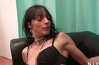 Skinny mature woman gets hard anal fucked xxx tube video
