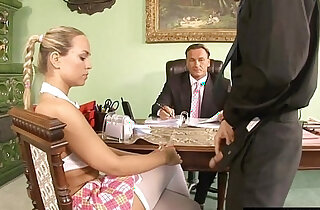 Naughty schoolgirl learning a lesson xxx tube video